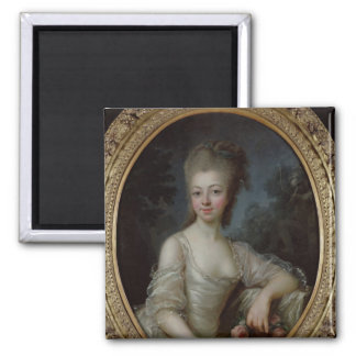 Portrait of a Young Girl, 1775 Fridge Magnets