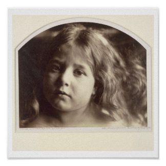 Portrait of a Young Girl (albumen print from a col