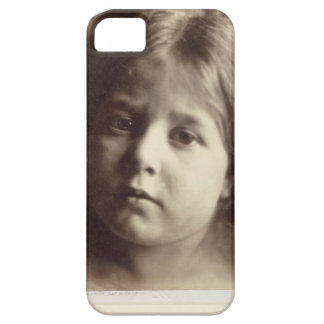 Portrait of a Young Girl (albumen print from a col iPhone SE/5/5s Case