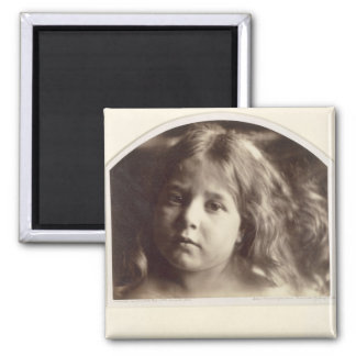Portrait of a Young Girl (albumen print from a col Magnet