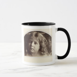 Portrait of a Young Girl (albumen print from a col Mug