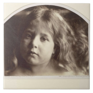 Portrait of a Young Girl (albumen print from a col Tile