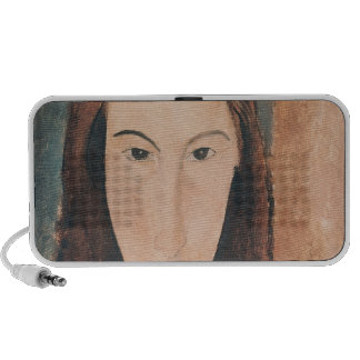 Portrait of a Young Girl iPhone Speaker