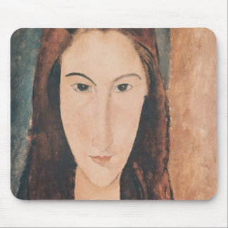 Portrait of a Young Girl Mouse Pad