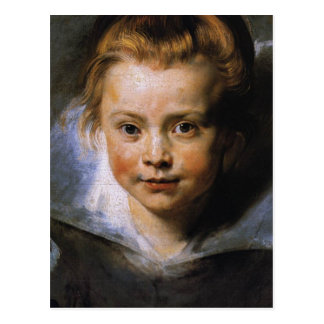Portrait of a Young Girl Post Cards