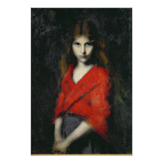 Portrait of a Young Girl, The Shiverer Poster