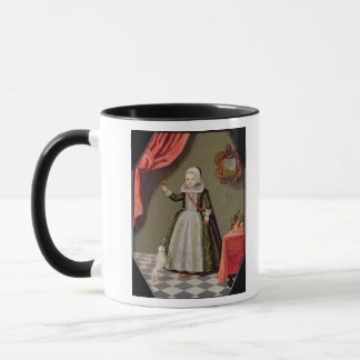 Portrait of a Young Girl with a Bird Mug