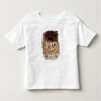 Portrait of a young girl with offerings toddler t-shirt