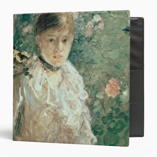 Portrait of a Young Lady 3 Ring Binders