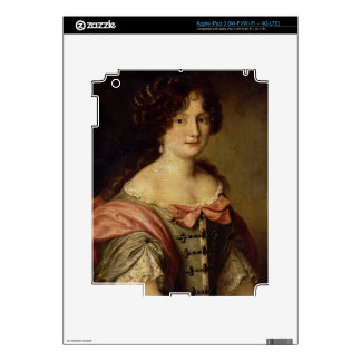 Portrait of a young lady iPad 3 skins