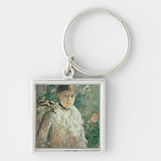 Portrait of a Young Lady Keychain