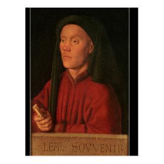 Portrait of a Young Man, 1432 Postcard