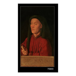 Portrait of a Young Man, 1432 Poster