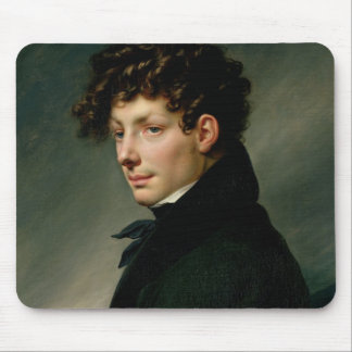 Portrait of a Young Man as a Hunter, 1811 Mouse Pad