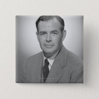 Portrait of a Young Man Button
