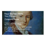 Portrait Of A Young Man By Bernard Pierre Business Card Templates