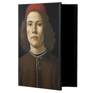 Portrait of a Young Man by Botticelli iPad Air Covers