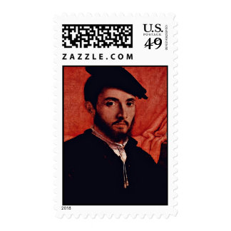 Portrait Of A Young Man By Lotto Lorenzo (Best Qua Stamps