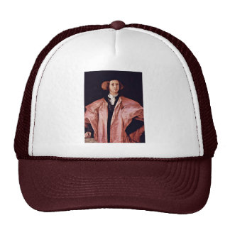 Portrait Of A Young Man By Pontormo Jacopo Best Q Trucker Hat