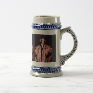 Portrait Of A Young Man By Pontormo Jacopo Best Q Mug