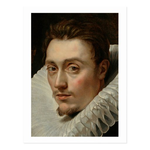 Portrait of a Young Man by Rubens Postcards