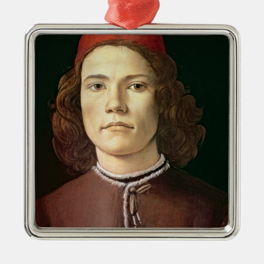 Portrait of a Young Man, c.1480-85 Metal Ornament