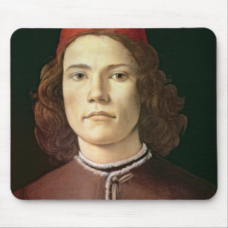 Portrait of a Young Man, c.1480-85 Mouse Pad