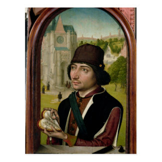 Portrait of a Young Man, c.1480 Postcard