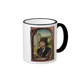 Portrait of a Young Man, c.1480 Ringer Coffee Mug