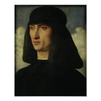 Portrait of a Young Man, c.1500 Poster