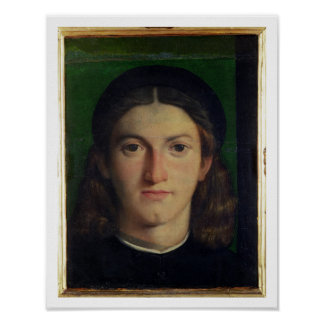 Portrait of a Young Man, c.1505 (oil on panel) Poster