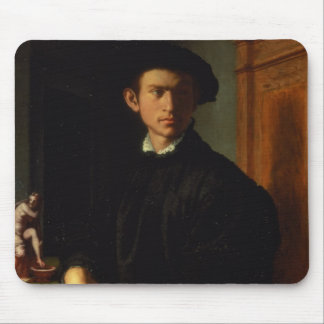 Portrait of a young man, c.1532-40 (oil on panel) mouse pad