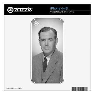 Portrait of a Young Man iPhone 4 Skins