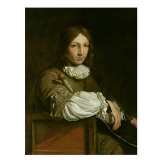 Portrait of a Young Man Postcard