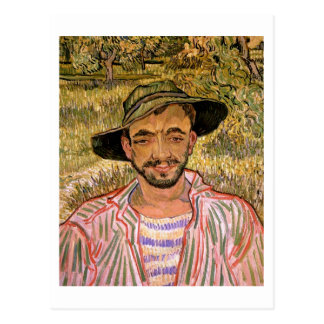 Portrait of a Young Peasant, Vincent van Gogh Post Cards