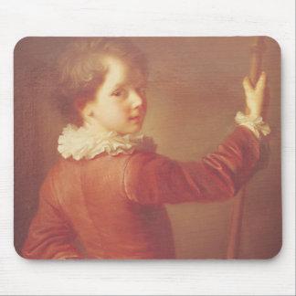 Portrait of a Young Pilgrim, 1725 Mousepad