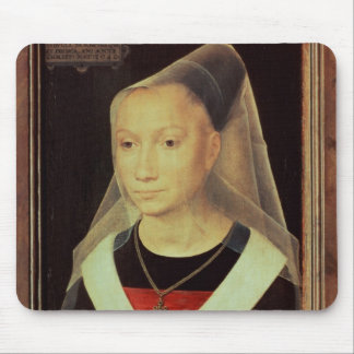 Portrait of a Young Woman, 1480 Mouse Pad