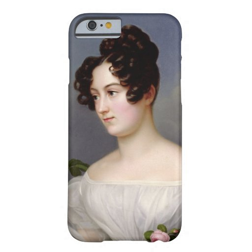 Portrait of a Young Woman, 1827 (oil on canvas) iPhone 6 Case
