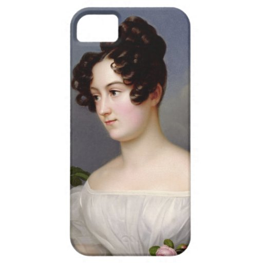 Portrait of a Young Woman, 1827 (oil on canvas) iPhone 5 Cases