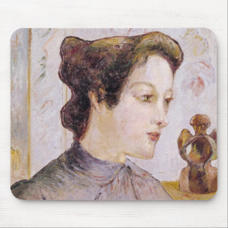 Portrait of a Young Woman, 1886 Mouse Pad