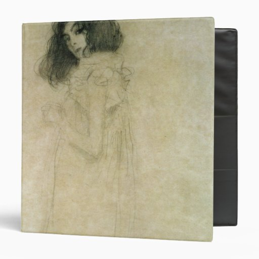 Portrait of a young woman, 1896-97 3 ring binders