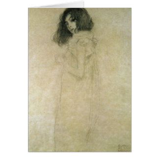 Portrait of a young woman, 1896-97 card