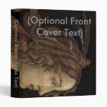 Portrait of a Young Woman 3 Ring Binder