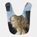 Portrait of a Young Woman by Botticelli Bib