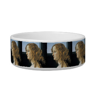 Portrait of a Young Woman by Botticelli Bowl