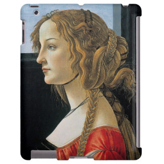 Portrait of a Young Woman by Botticelli