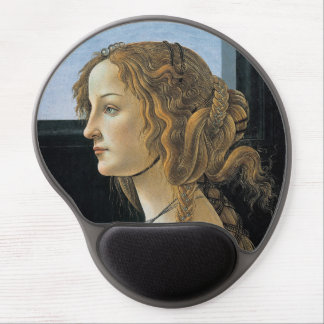 Portrait of a Young Woman by Botticelli Gel Mouse Pad