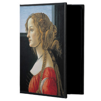 Portrait of a Young Woman by Botticelli iPad Air Cover