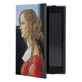 Portrait of a Young Woman by Botticelli iPad Mini Cover