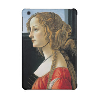 Portrait of a Young Woman by Botticelli iPad Mini Retina Covers
